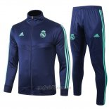 Chandal del Real Madrid 2019-2020 Azul Oscuro