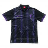 Camiseta Polo del Liverpool 2019-2020 Negro y Purpura