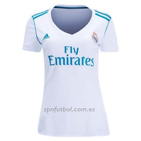 da7ca23441057 Comprar Camiseta Real Madrid Primera Mujer 2017-2018