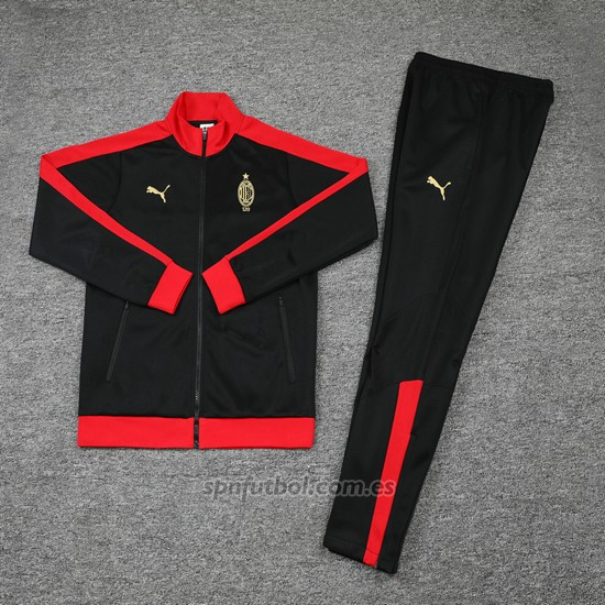 Chandal del AC Milan 120 Anos 2019 Negro